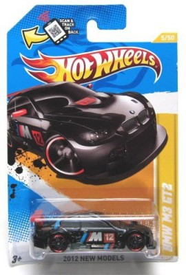 Hot Wheels 2012 New Models Bmw M3 Gt2 Black 5/247