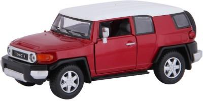 Baby Steps Kinsmart Die-Cast Metal Toyota Fj Cruiser Maroon