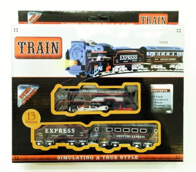 Jaywebstore Battery Operated Train Set With Head Light