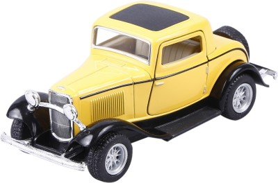BRECKEN PAUL Baby Steps | Kinsmart 1932 Ford 3-Window Coupe Yellow