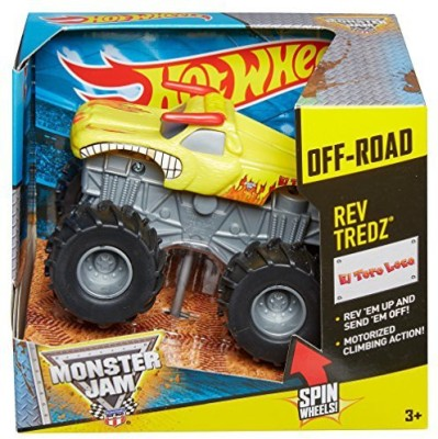 Hot Wheels Monster Jam Rev Tredz El Toro Loco Truckyellow