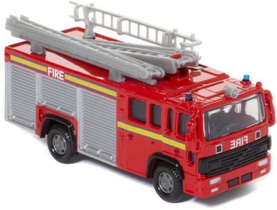 Hamleys Fire Engine Silver and Red