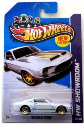 Hot Wheels ,68 Shelby GT500 (HW Showroom - 2013)
