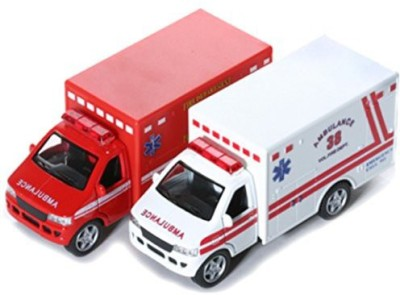 Kinsmart Kinsfun Display Rescue Team 5
