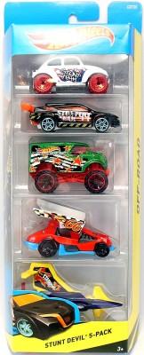 Hot Wheels 5 Car Gift Pack Stunt Devil