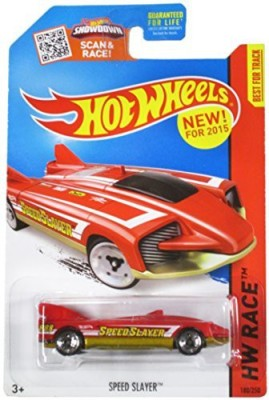 Hot Wheels Hw Race 2015 Red Speed Slayer Track Aces 180/250