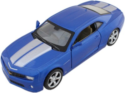 Tootpado Sports Model Metal Toy Car With Pull Back Mechanism - Blue - (1c346) Playing Cars For Kids