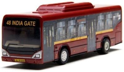 A M Enterprises Red Plastic Bus
