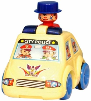 Homeshopeez Push N Go Police Car