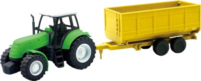 New-Ray Tractor with Trailer