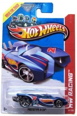 Hot Wheels 2013 Hw Racing Treasure Hunt Prototype H24