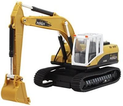 Aivtalk Caterpillar Excavator Toys Loader Backhoe Pull Back Vehicle Music Light