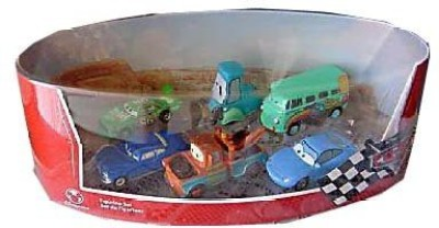 Unknown Disney Pixar Cars Figurine Set With Mater