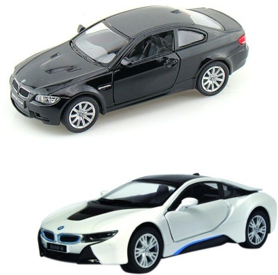 i-gadgets BMW i8 Silver And BMW M3 Coupe Black