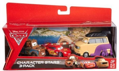 Mattel Cars 2 Collector Sumo Wrestlermater And Lightning Mcqueen