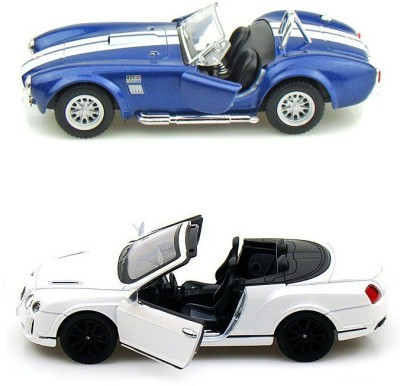 Kinsmart Shelby Cobra and Bentley Continental Convertible