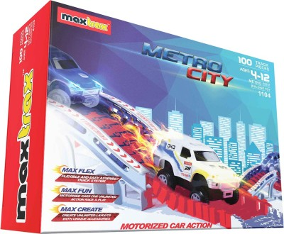 Maxtrax Metro City - 100 Track Pieces