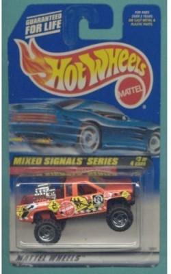 Hot Wheels 1998 Mixed Signals Series Nissan Truck