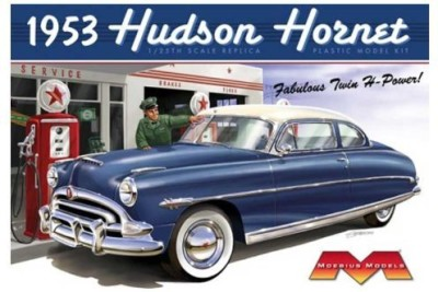Unknown 1953 Hudson Hornet 1/25 Moebius