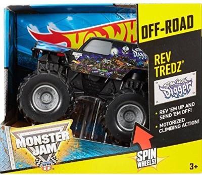 Mattel Hot Wheels Monster Jam Rev Tredz Sonuva Digger
