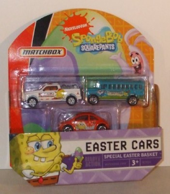 Matchbox Spongebob Squarepants Easter Cars