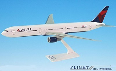 Flight Miniatures Delta (07Cur) Boeing 767400 Airplane Miniature Model Snap