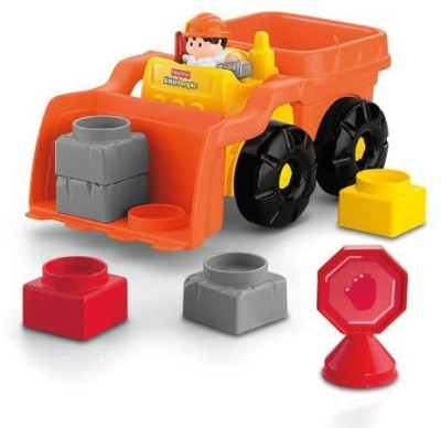 Fisher-Price Little People Builders Build ,N Drive Front Loader