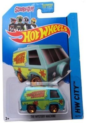 Hot Wheels 2014 Tooned I Hw City Scoodoo The Mystery Machine 84/250