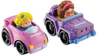 Fisher-Price Little People Wheelies 2Pack Coupe/4X4