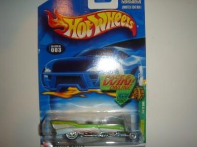 Mattel 2002 Hot Wheels Treasure Hunt ,57 Roadster Light