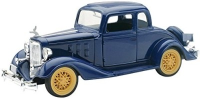 New-Ray Chevy Two Passenger 5 Window Coupe Diecast Car