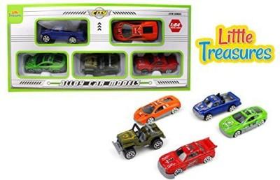 Little Treasures Die-Cast Model Cars Play Toy - Set Of 5