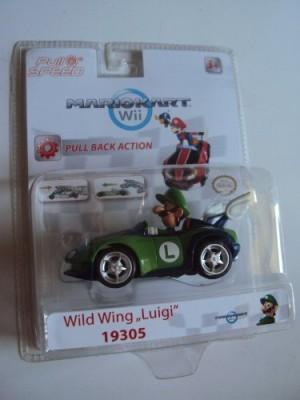 Mario Kart 7 Wild Wing Luigi Pull And Speed Nintendo Mario Kart Wii