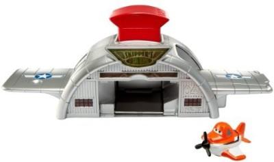 Mattel Disney Planes Micro Drifters Dusty Crophopper Launcher