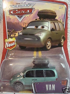 Disney Van Pixar World Of Cars Mattel 155 Scale