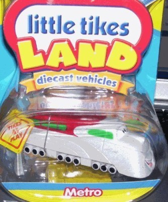 Little Tikes Land Diecast Metro Train