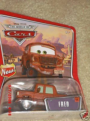 Disney Fred Pixar Cars Mattel World Of Cars Background Card