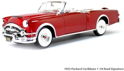 Road Signature 1953 Packard Caribbean Red 1:18 Yatming