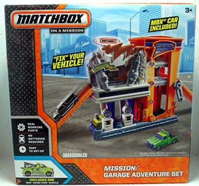 Matchbox on a mission Garage Adventure Set