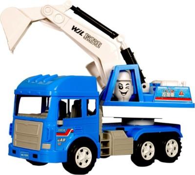 Montez Jcb Truck - Friction Toy