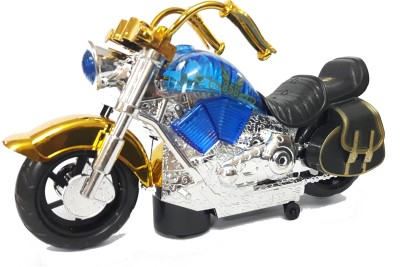 Lotus Harley Davidson Bike Toy With Colourfull Bright Lights & Sound