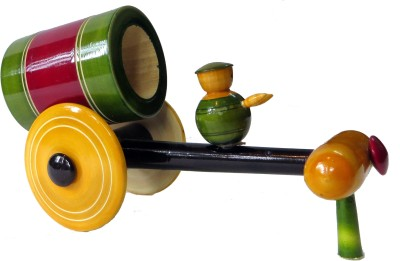 Nihar Wooden Cart Toy