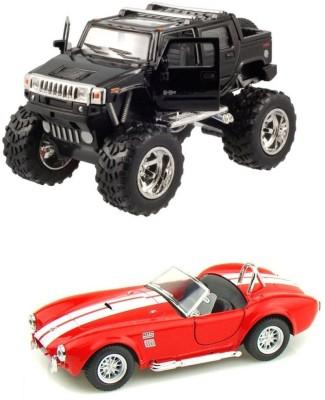 i-gadgets Kinsmart Monster Hummer H2 Sut and shelby cobra rd