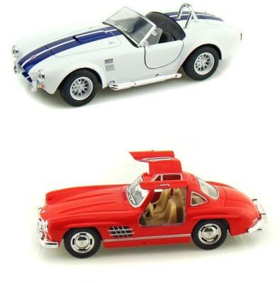 i-gadgets Kinsmart Shelby Cobra And Mercedes Sl Coupe