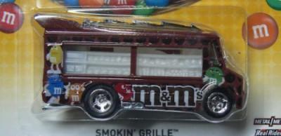 Hot Wheels M & M,S Smokin, Grille