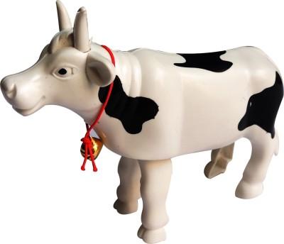 Redhill White Cow Walking Toy