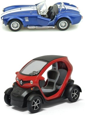 Kinsmart Renaulty Twizy Concept and Shelby Cobra