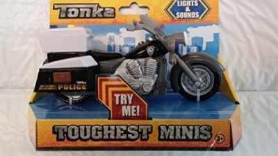 Mattel Tonka Toughest Mini Police Motorcycle With Sounds