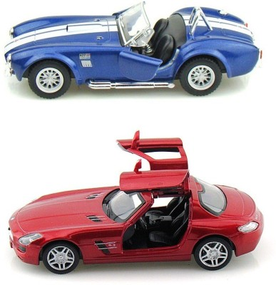 Kinsmart Shelby Cobra and Metcedes SLS AMG