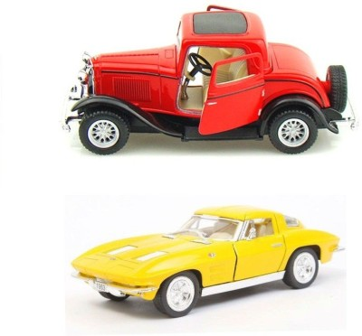 Kinsmart Ford 1932 Coupe and Chevrolet 1963